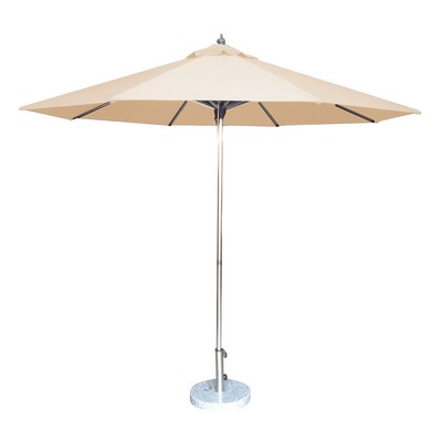 Picture of 2.7m Tuscany Polished Market Umbrella, Acrylic Canvas cover
